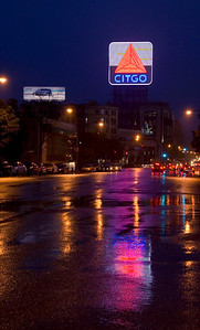 Citgo reflections, Boston
